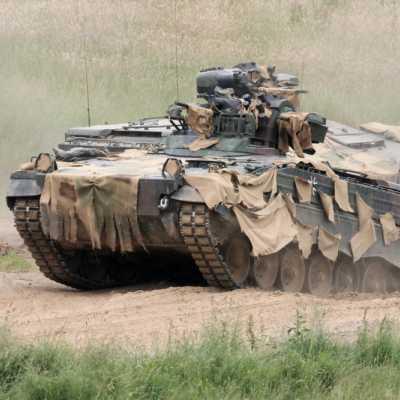 Bild: Bundeswehr-Panzer, über dts Nachrichtenagentur