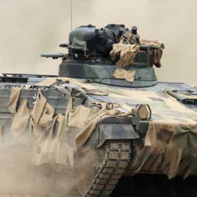 Bild: Bundeswehr-Panzer Marder, über dts Nachrichtenagentur