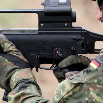 Bild: Bundeswehr-Soldat mit G36, über dts Nachrichtenagentur