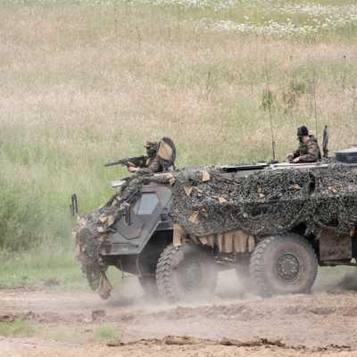 Bild: Bundeswehr-Panzer Fuchs, über dts Nachrichtenagentur