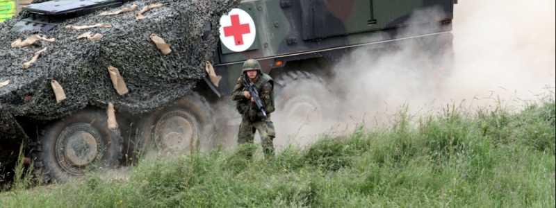Bild: Bundeswehr-Sanitätspanzer, über dts Nachrichtenagentur