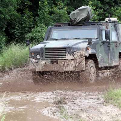 Bild: Gepanzertes Bundeswehr-Auto, über dts Nachrichtenagentur