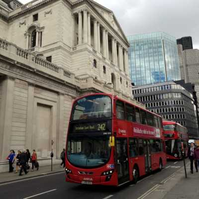 Bild: Bank of England im Finanzviertel von London, über dts Nachrichtenagentur