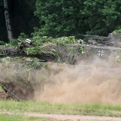 Bild: Bundeswehr-Panzer Leopard 2, über dts Nachrichtenagentur