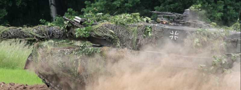 Bild: Bundeswehr-Panzer