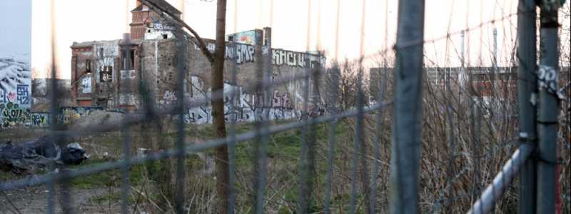 Bild: Leerstehendes Grundstück in Kreuzberg, über dts Nachrichtenagentur