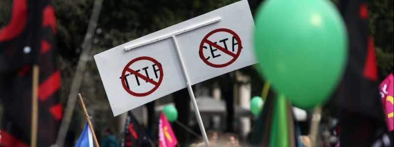 Bild: Demonstration gegen TTIP und Ceta, über dts Nachrichtenagentur