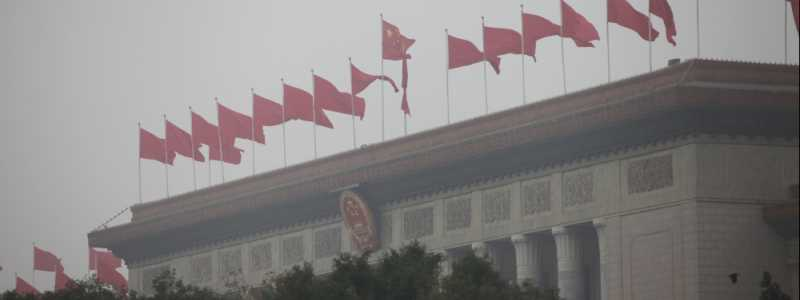Bild: Parlamentsgebäude Große Halle des Volkes in Peking, über dts Nachrichtenagentur