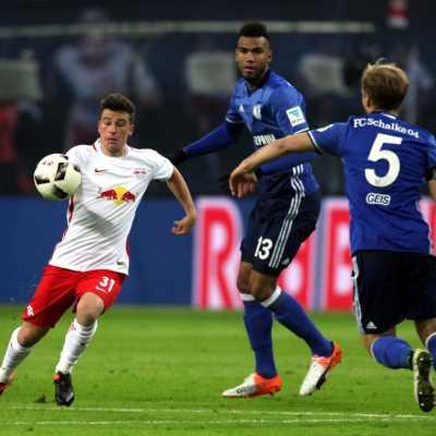 Bild: RB Leipzig - Schalke 04 am 03.12.2016, über dts Nachrichtenagentur