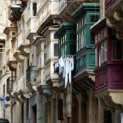Bild: Hausfassaden auf Malta, über dts Nachrichtenagentur