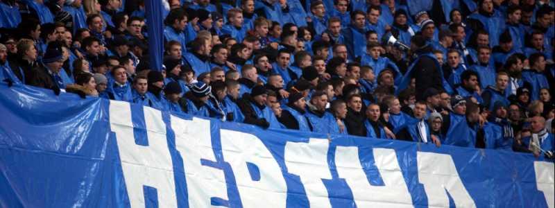 Bild: Fans von Hertha BSC, über dts Nachrichtenagentur