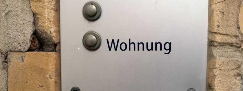 Bild: Klingel an einer Wohnung, über dts Nachrichtenagentur