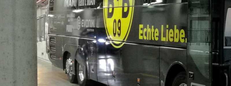 Bild: Bus von Borussia Dortmund, über dts Nachrichtenagentur