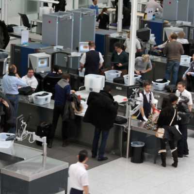 Bild: Sicherheitskontrolle am Flughafen, über dts Nachrichtenagentur