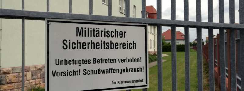 Bild: Bundeswehr-Kaserne, über dts Nachrichtenagentur