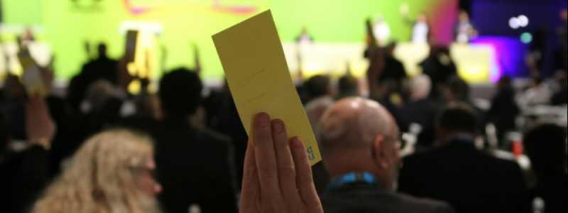Bild: FDP-Parteitag 2017, über dts Nachrichtenagentur