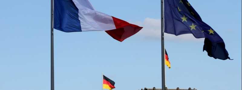 Bild: Fahnen von Deutschland, Frankreich und der EU, über dts Nachrichtenagentur