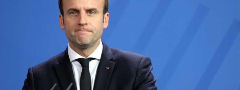 Bild: Emmanuel Macron, über dts Nachrichtenagentur
