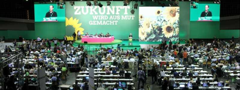 Bild: Grünen-Parteitag Juni 2017, über dts Nachrichtenagentur