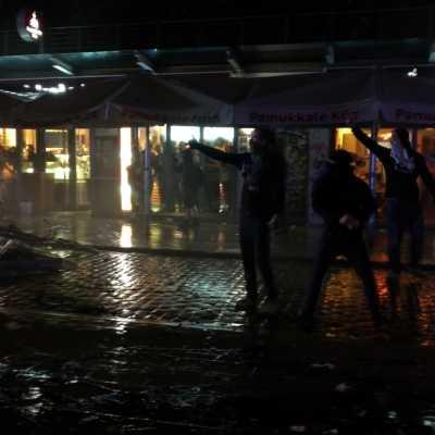 Bild: Randale in Hamburg in der Nacht auf den 08.07.2017, über dts Nachrichtenagentur