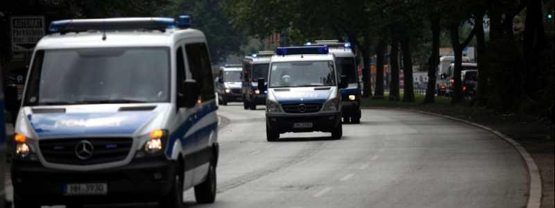 Bild: Polizei bei G20-Gipfel in Hamburg, über dts Nachrichtenagentur