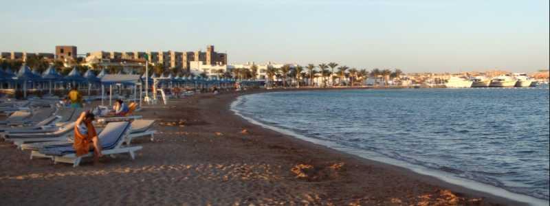 """Bild: Strand von Hurghada (Ã""""gypten), über dts Nachrichtenagentur"""