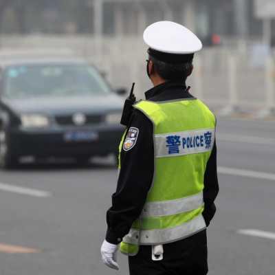 Bild: Polizist in China, über dts Nachrichtenagentur