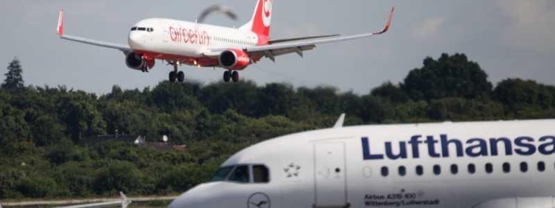 Bild: Air Berlin und Lufthansa, über dts Nachrichtenagentur