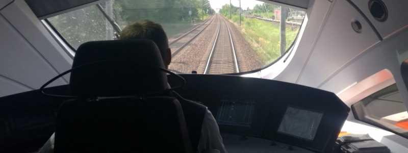 Bild: ICE-Lokführer bei der Deutschen Bahn, über dts Nachrichtenagentur