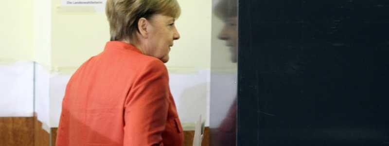 Bild: Angela Merkel bei der Stimmabgabe am 24.09.2017, über dts Nachrichtenagentur