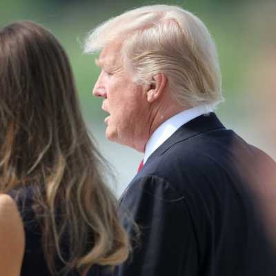 Bild: Donald und Melania Trump, über dts Nachrichtenagentur