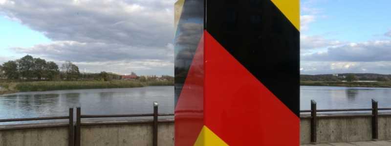 Bild: Grenzpfosten, über dts Nachrichtenagentur