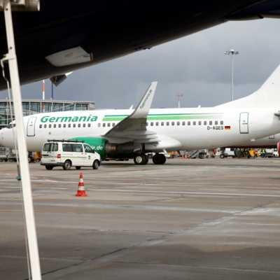 Bild: Flugzeug von Germania, über dts Nachrichtenagentur