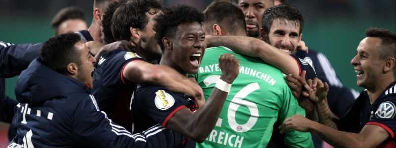 Bild: FC-Bayern-Spieler im DFB-Pokal, über dts Nachrichtenagentur