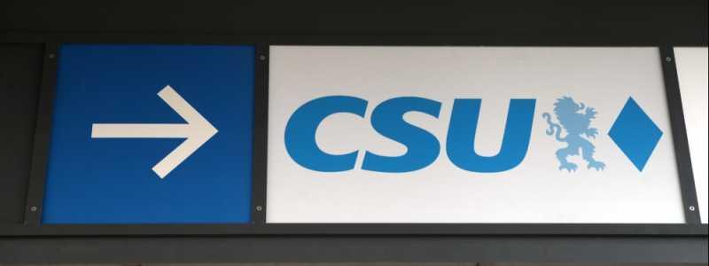 Bild: CSU-Logo, über dts Nachrichtenagentur