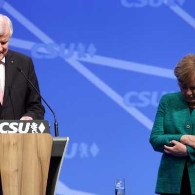 Bild: Horst Seehofer und Angela Merkel, über dts Nachrichtenagentur