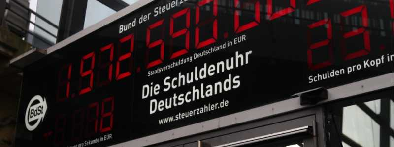Bild: Schuldenuhr, über dts Nachrichtenagentur