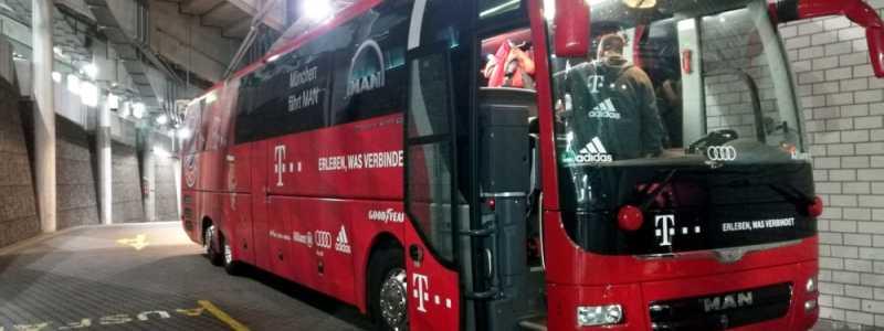 Bild: Mannschaftsbus des FC Bayern, über dts Nachrichtenagentur