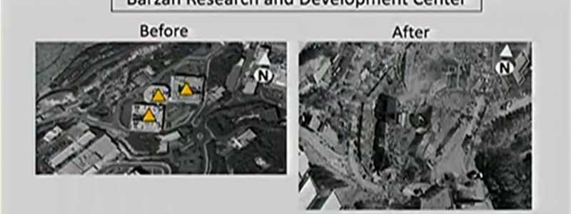 Bild: US-Präsentation nach Luftschlag am 14.04.2018, über dts Nachrichtenagentur