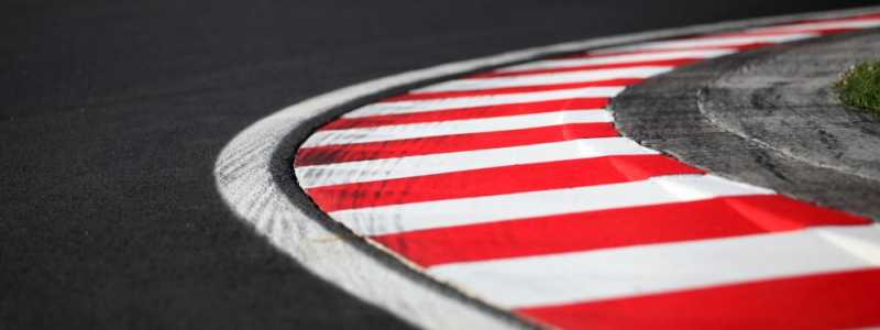 Bild: Fahrbahnmarkierung auf einer Formel-1-Rennstrecke, über dts Nachrichtenagentur