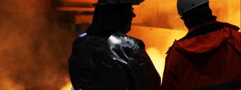 Bild: Stahlproduktion, über dts Nachrichtenagentur