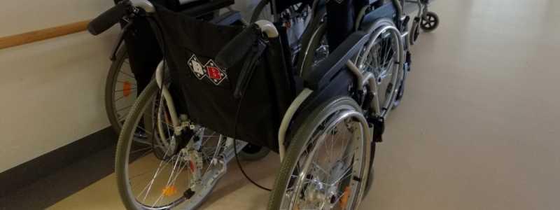 Bild: Rollstühle im Krankenhaus, über dts Nachrichtenagentur