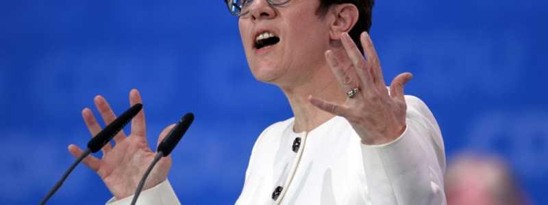 Bild: Annegret Kramp-Karrenbauer, über dts Nachrichtenagentur