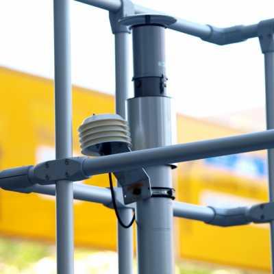 Bild: Messstelle für Stickoxide, über dts Nachrichtenagentur