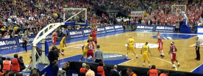 Bild: Basketball-Spiel zwischen Alba und dem FCB, über dts Nachrichtenagentur