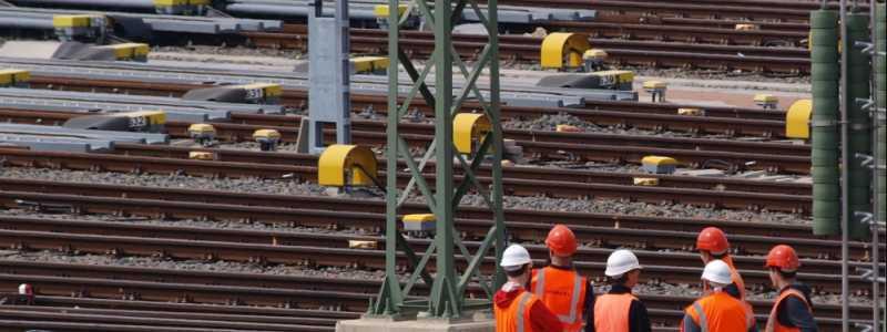 Bild: Arbeiter Gleisanlage, über dts Nachrichtenagentur