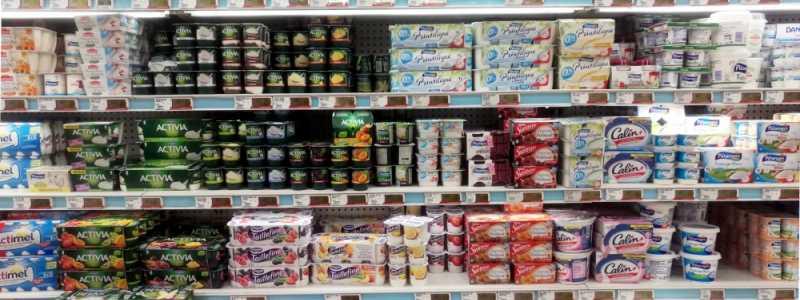 Bild: Joghurt im Supermarkt, über dts Nachrichtenagentur