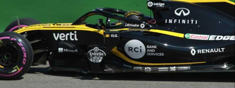 Bild: Formel-1-Rennauto von Renault, über dts Nachrichtenagentur