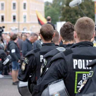 Bild: Proteste in Chemnitz, über dts Nachrichtenagentur