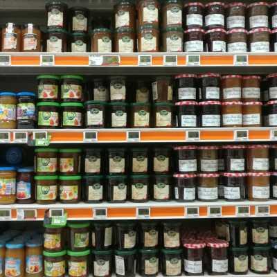 Bild: Marmelade im Supermarkt, über dts Nachrichtenagentur